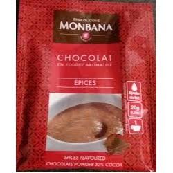 chocolat poudre epices
